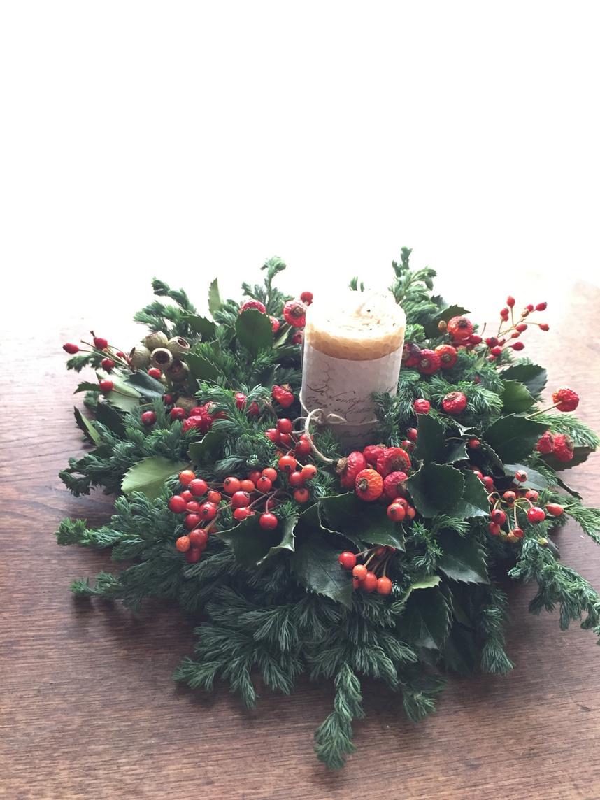 大切な日や、クリスマスの食卓の真ん中に。